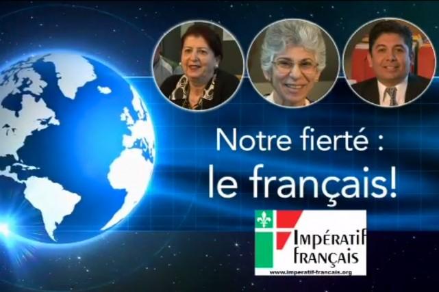 Estimant que sa campagne publicitaire «Tout le monde parle français» a porté... (IMAGE TIRÉE DE YOUTUBE)
