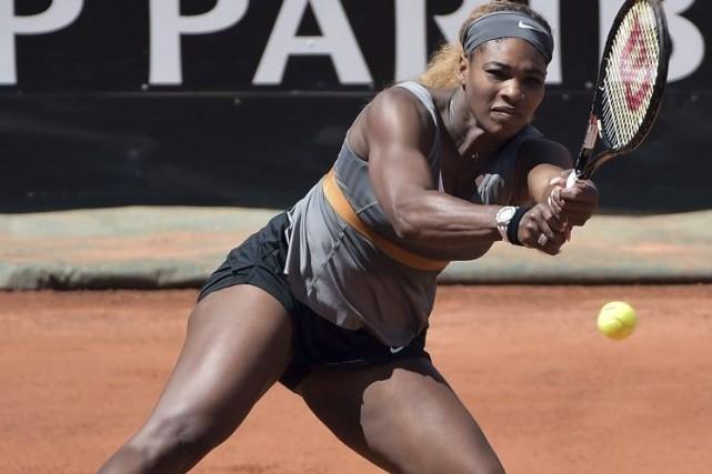 Serena Williams... (PHOTO GABRIEL BOUYS, AFP)