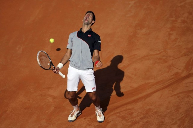 Novak Djokovic... (Photo Gregorio Borgia, AP)