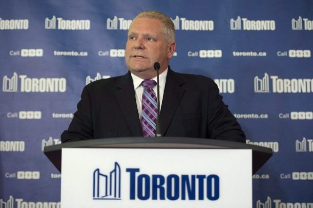 M.Ford affirme que les occupants de la résidence... (Photo Darren Calabrese, PC)