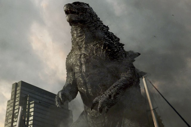 Godzilla... (Photo fournie par Warner Bros)