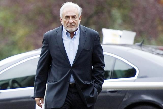 Dominique Strauss-Kahn se dit «écoeuré et effrayé par... (PHOTO MIGUEL MEDINA, ARCHIVES AFP)