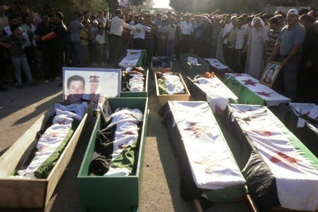 Les violences en Syrie ont fait plus de162... (Photo Reuters)