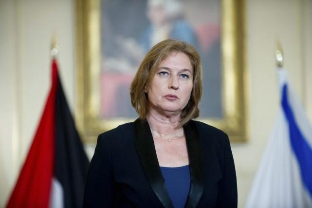 Tzipi Livni, la ministre israéliennede la Justice.... (Photo Nicholas Kamm, archives AFP)