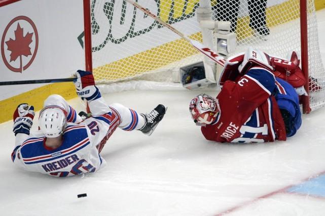Chris Kreider, c'est l'attaquant des Rangers qui est... (Photo Ryan Remiorz, La Presse Canadienne)