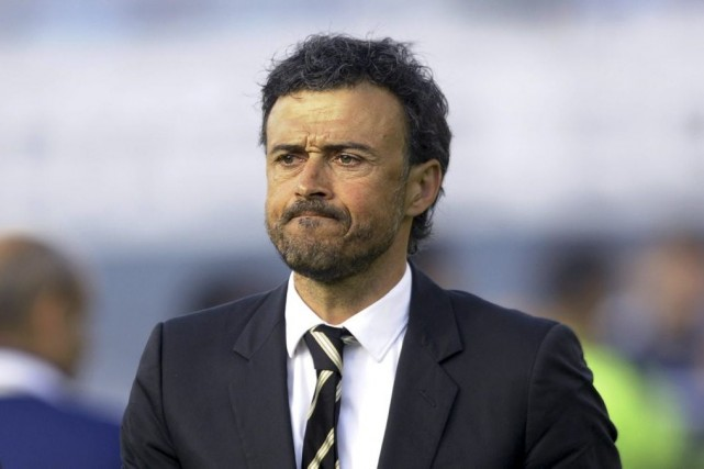 Luis Enrique... (Photo Miguel Riopa, archives Agence France-Presse)