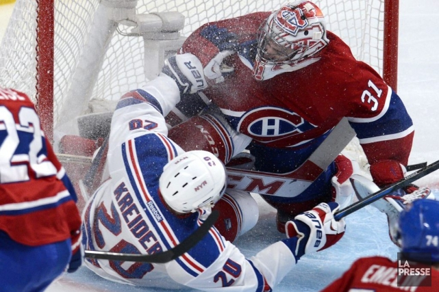 Carey Price a vu ses séries prendre fin... (Photo Bernard Brault, archives La Presse)