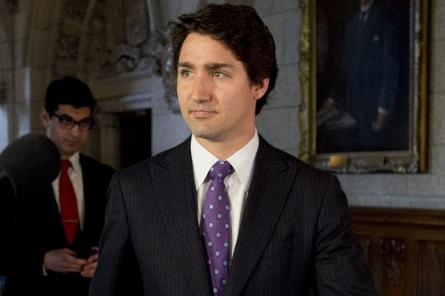 Justin Trudeau... (Photo Adrian Wyld, La Presse Canadienne)