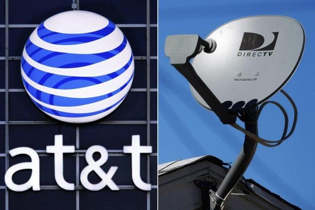 L'achat de DirecTV par AT&T illustre la recherche de relais de croissance des... (Photos Seth Perlman, Reed Saxon, Associated Press)
