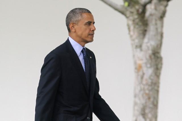 Barack Obama laisse souvent filtrer son déplaisir face... (Photo: Reuters)