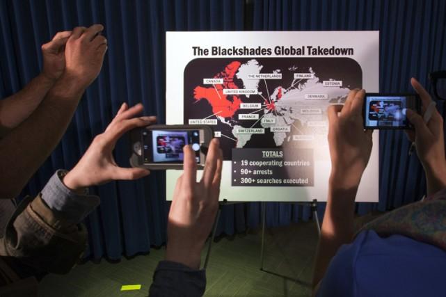 Le logiciel BlackShadespermet aux pirates informatiques de dérober... (Photo: Reuters)