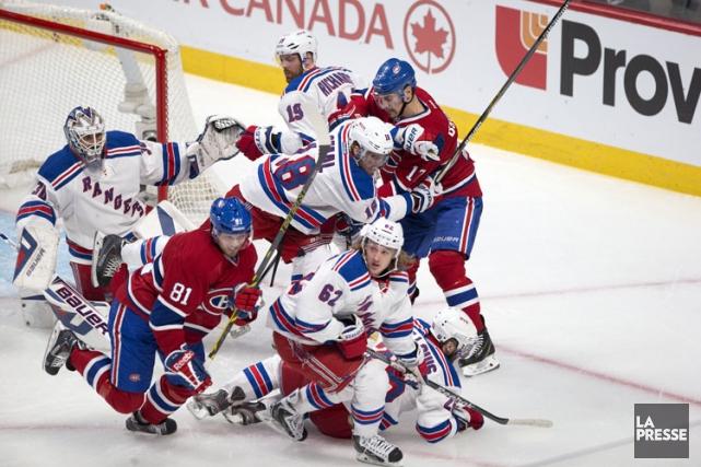 Relisez le clavardage du deuxième match de la série entre le Canadien et les... (Photo: Robert Skinner, La Presse)
