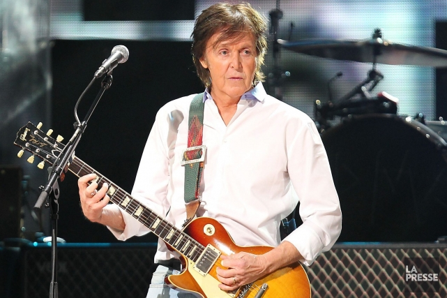 Paul McCartney... (Photo Dave Allocca, AP)