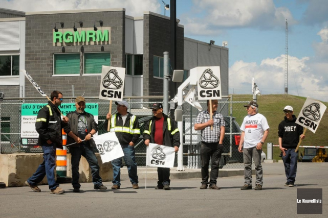 La grève à la RGMRM en 2014 aura... (Photo: François Gervais, Le Nouvelliste)