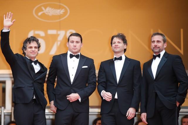 De gauche à droite: les acteurs Mark Ruffalo... (Photo: AFP)