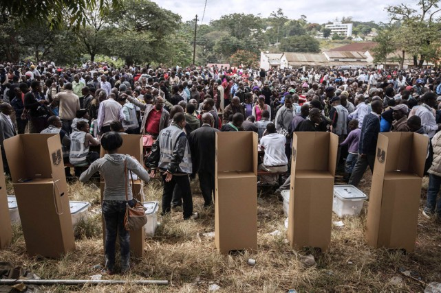 Quelque 7,5 millions de Malawites doivent élire leur... (PHOTO GIANLUIGI GUERCIA, AFP)
