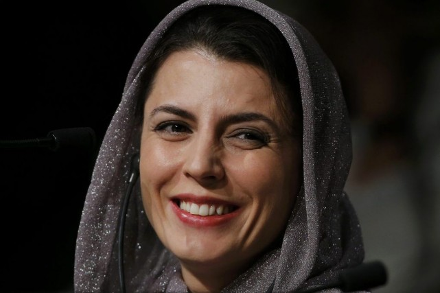Leila Hatami... (Photo: Reuters)