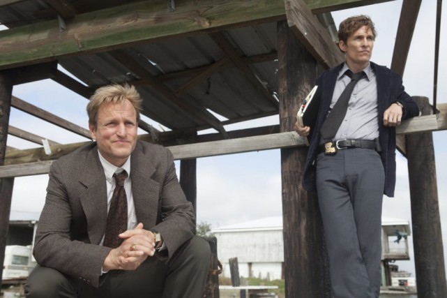 Woody Harrelson et Matthew McConaughey dans True Detective.... (Photo: fournie par HBO)