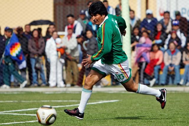 Le président bolivien Evo Morales peut dorénavant ajouter... (PHOTO JUAN KARITA ARCHIVES AP)