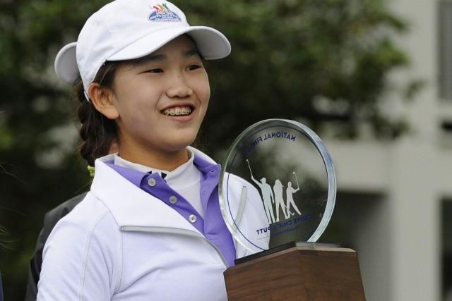 Lucy Li avait remporté le championnat de coups... (Photo Timothy A. Clary, archives Agence France-Presse)