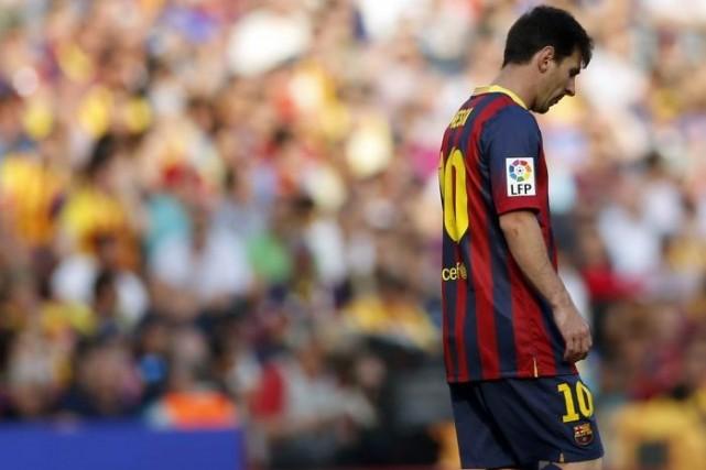 Lionel Messi... (Photo Albert Gea, archives Reuters)