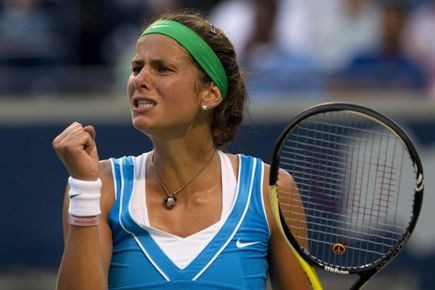 Julia Goerges... (Photo archives La Presse Canadienne)