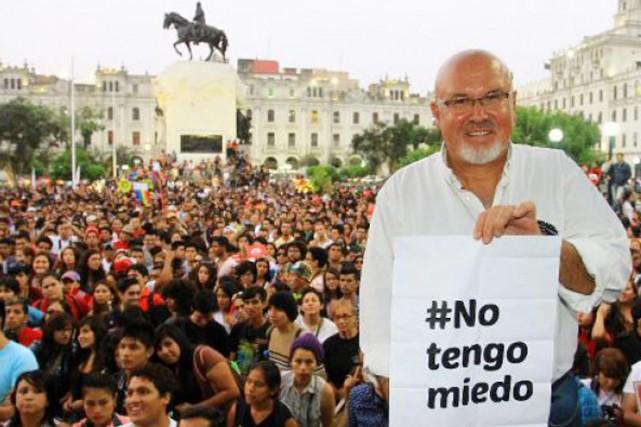 Carlos Bruce, 57 ans, est l'un des principaux... (PHOTO ARCHIVES DIALOGAI.ORG)