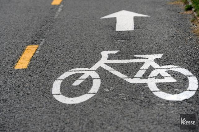 En réaction à la lettre ouverte «Les cyclistes et les autres» de Jacques... (Archives La Presse)
