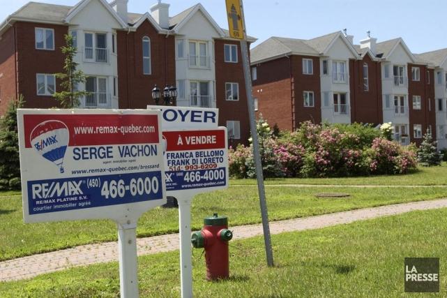 Alors que les prix des propriétés continuaient d'augmenter,... (PHOTO JEAN GOUPIL, ARCHIVES LA PRESSE)
