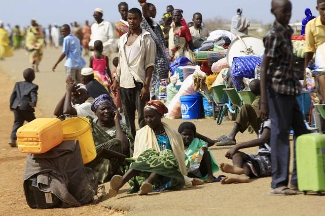 Plus de 1,3 million de Sud-Soudanais ont fui... (PHOTO MOHAMED NURELDIN ABDALLAH, ARCHIVES REUTERS)