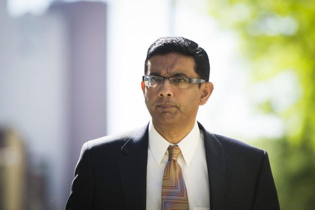 Dinesh D'Souza, très apprécié des cercles conservateurs, est... (PHOTO LUCAS JACKSON, REUTERS)