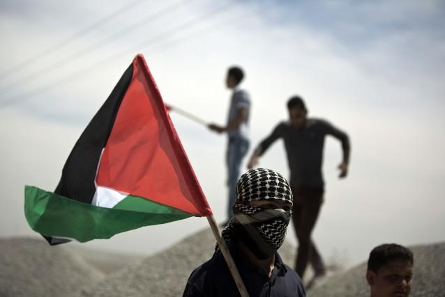 Une dirigeante de l'Organisation de libération de la Palestine (OLP), Hanane... (Photo MOHAMMED ABED, AFP)