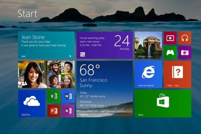 Microsoft rappelle qu'elle travaille avec une série d'agences... (Photo Microsoft)