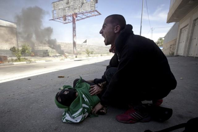 Une des deux victimes palestiniennes de jeudi dernier,... (Photo: AP)