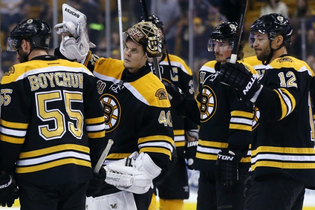 Cam Neely croit que les Bruins de Boston seront encore parmi les favoris pour... (Photo: AP)