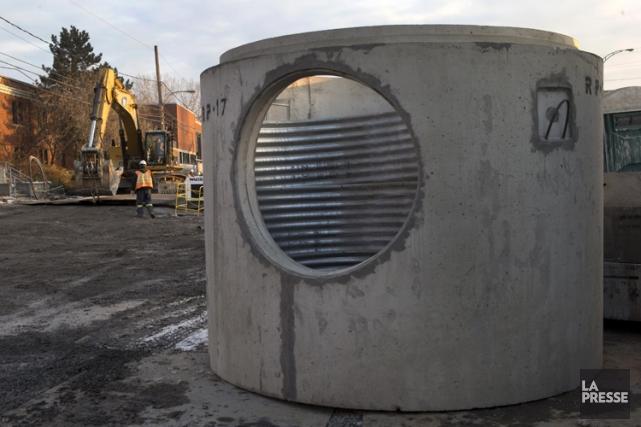 L'entreprise de construction Bentech ne poura soumissionner sur... (Photo: Robert Skinner, archives La Presse)