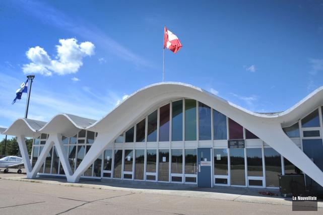 L'aéroport de Trois-Rivières.... (Photo: Stéphane Lessard Le Nouvelliste)