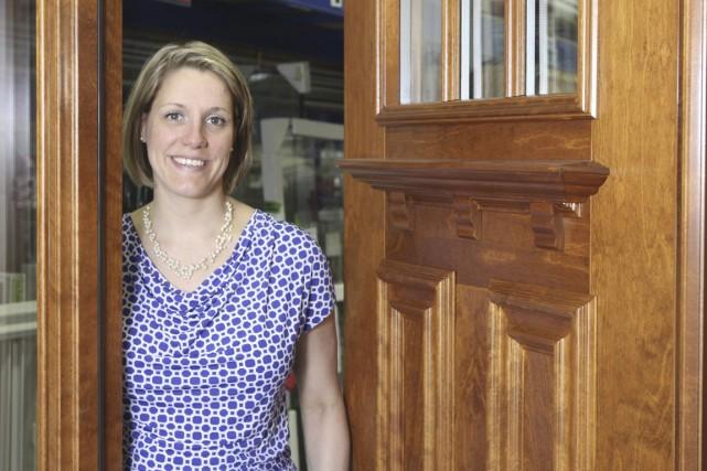 Catherine Houle est présidente et principale actionnaire de... (PHOTO STÉPHANE CHAMPAGNE, COLLABORATION SPÉCIALE)