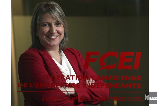 Martine Hébert est vice-présidente principale à la Fédération... (PHOTO MARTIN CHAMBERLAND, LA PRESSE)