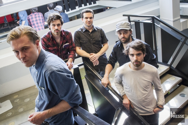 Le groupe The Franklin Electric... (Photo: Olivier Pontbriand, La Presse)