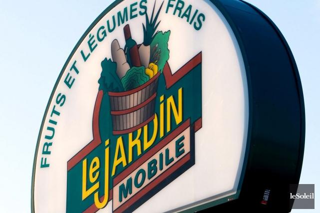 À Québec, le tout premier Le Jardin Mobile... (Photothèque Le Soleil)