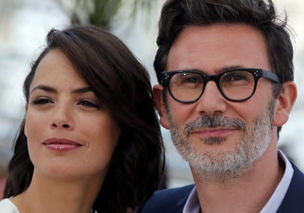 MichelHazanavicius et son actrice Bérénice Béjo.... (Photo: Reuters)
