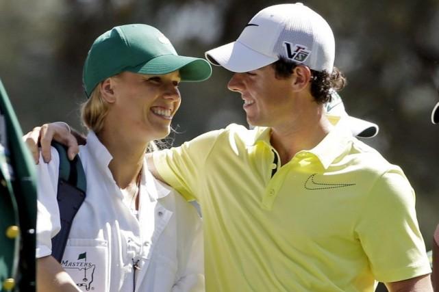 Caroline Wozniacki et Rory McIlroy, en 2013.... (Photo Darron Cummings, archives Associated Press)