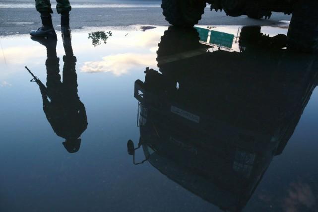 Malgré la loi martiale, les militaires ont assuré... (PHOTO WASON WANICHAKORN, AP)