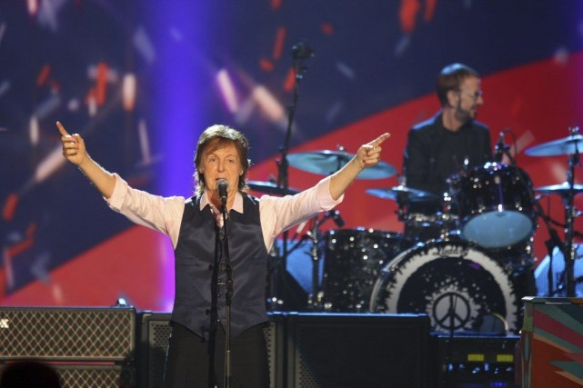 Paul McCartney devait monter sur scène dans un... (Photo Zach Cordner, Archives AP)