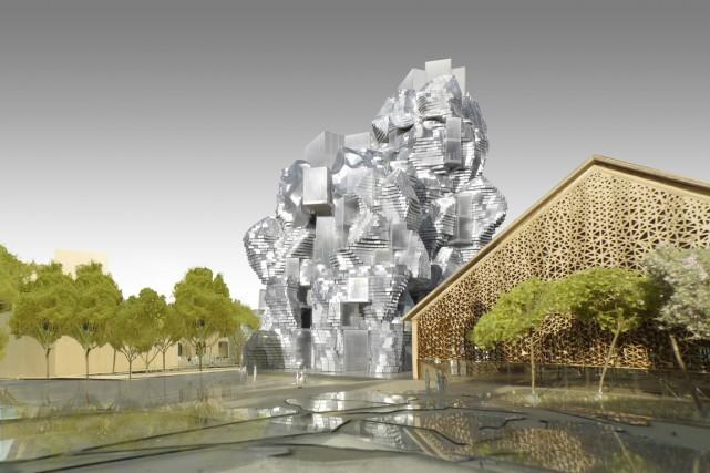 Les installations de la Fondation LUMA, telles qu'imaginées... (Photo fournie par la Fondation LUMA)