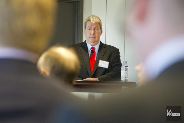 Le PDG deValeant, Michael Pearson... (La Presse, Ivanoh Demers)