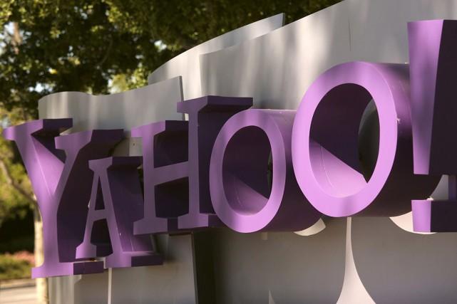 L'acquisition de RayV viendrait à point pour Yahoo!... (Photo Archives Reuters)