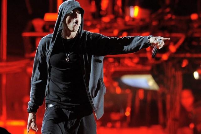 Eminem... (Photo: archives AP)