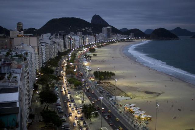 La ville de Rio de Janeiro, au Brésil.... (Photo Felipe Dana, AP)
